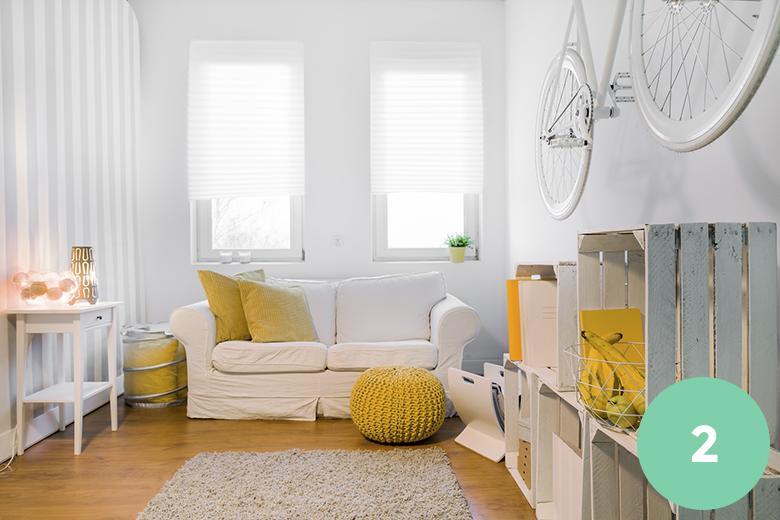 d co 5 astuces pour agrandir l espace de ton studio tudiant d co d brouille immodvisor. Black Bedroom Furniture Sets. Home Design Ideas