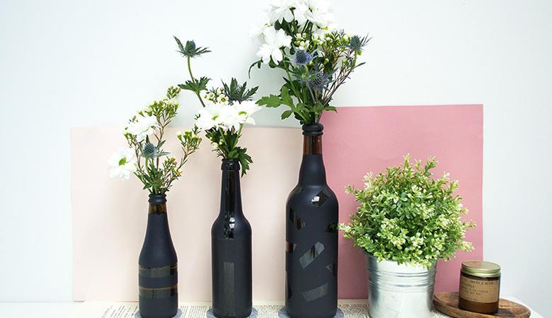diy 6 objets r cup rer pour une d co styl e d co. Black Bedroom Furniture Sets. Home Design Ideas