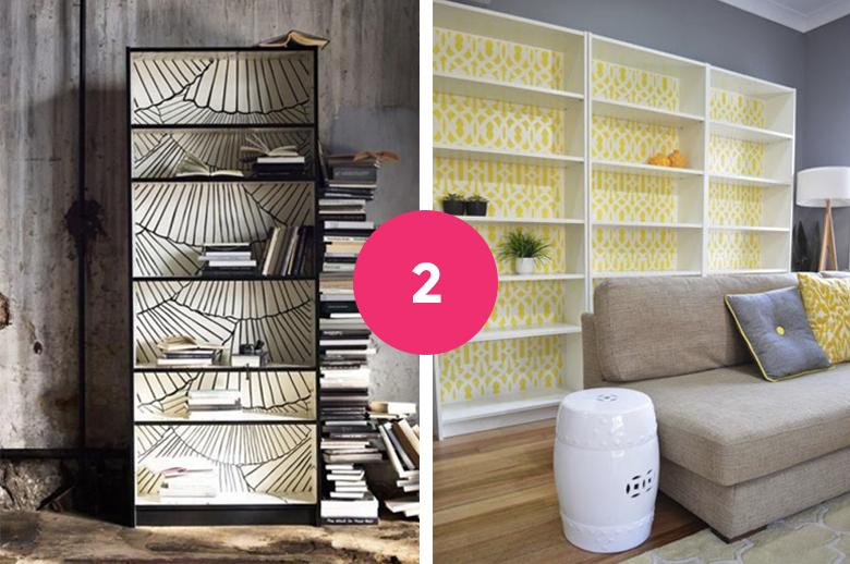 Ikea Hack 6 Idees Pour Customiser La Bibliotheque Billy